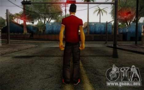 Ginos Ped 32 para GTA San Andreas segunda pantalla