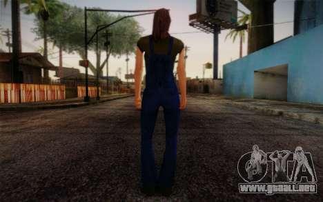 Ginos Ped 26 para GTA San Andreas segunda pantalla