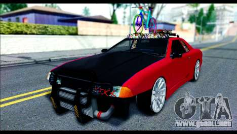 Elegy Slammed para GTA San Andreas left