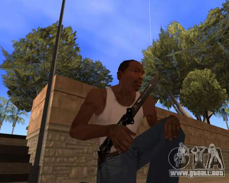 Hitman Weapon Pack v1 para GTA San Andreas tercera pantalla
