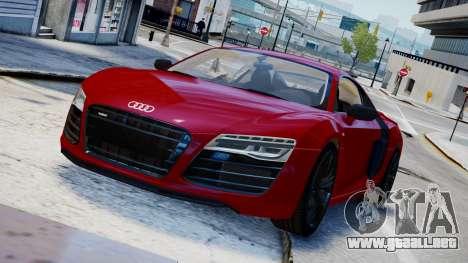 Audi R8 V10 Plus 2014 v1.0 para GTA 4