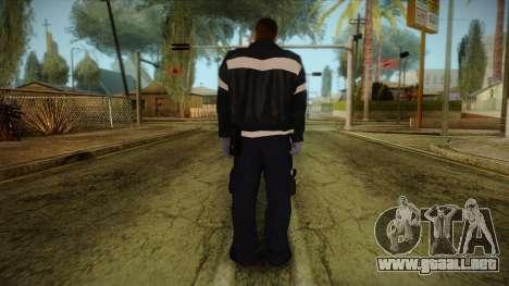 GTA 4 Emergency Ped 12 para GTA San Andreas segunda pantalla