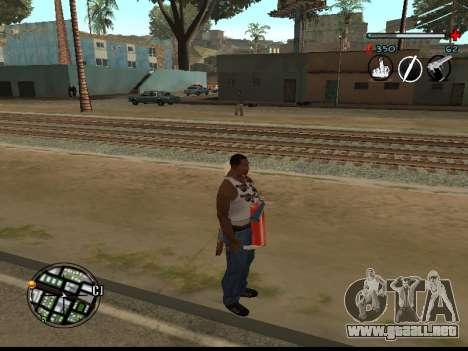 C-HUD Good para GTA San Andreas segunda pantalla
