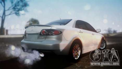 Mazda 6 MPS para GTA San Andreas left