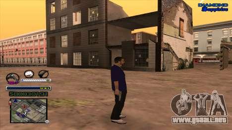 C-HUD Universal para GTA San Andreas segunda pantalla
