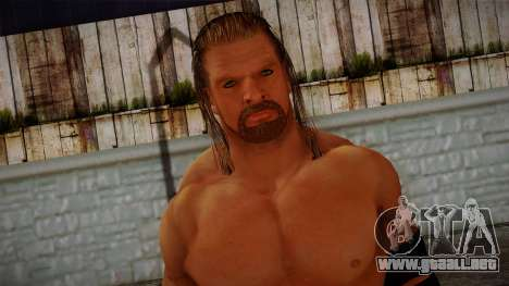 Triple H from Smackdown Vs Raw para GTA San Andreas tercera pantalla