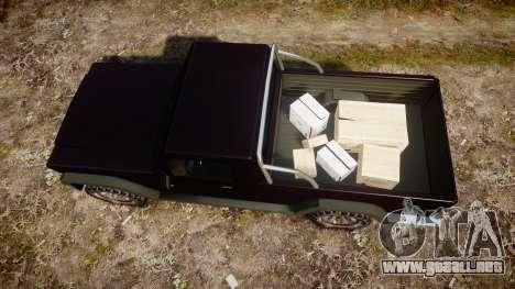 Senran Pioneer Pickup para GTA 4 visión correcta