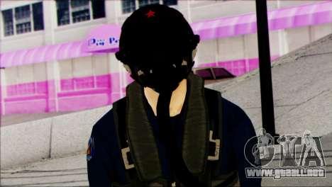Chinese Jet Pilot from Battlefield 4 para GTA San Andreas tercera pantalla
