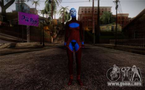 Asari Dancer from Mass Effect para GTA San Andreas