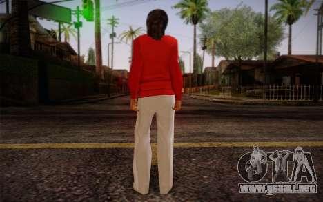 Ginos Ped 8 para GTA San Andreas segunda pantalla