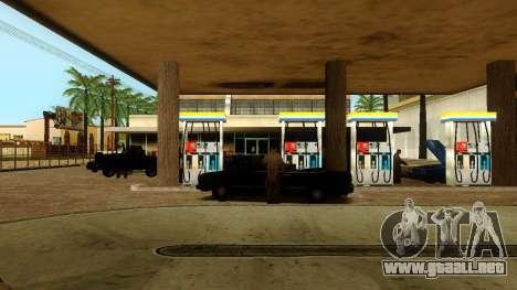 La recuperación de las estaciones de Los Santos para GTA San Andreas undécima de pantalla