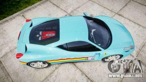 Ferrari 458 Italia 2010 v3.0 Purrari para GTA 4 visión correcta