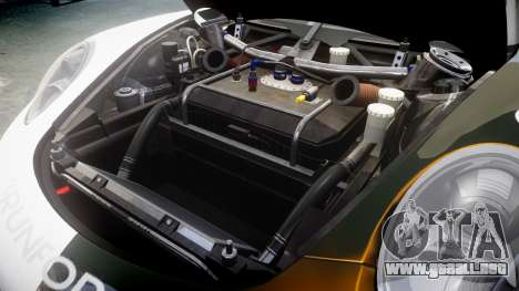 RUF RGT-8 GT3 [RIV] Nelris para GTA 4 vista interior