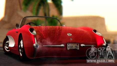 Chevrolet Corvette C1 1962 para GTA San Andreas left