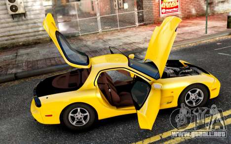 Mazda RX-7 1997 FD3s [EPM] para GTA 4 left