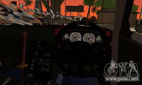 Nissan Silvia S13 Eastern Tuners para GTA San Andreas vista posterior izquierda