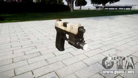 La pistola HK USP 45 nevada para GTA 4