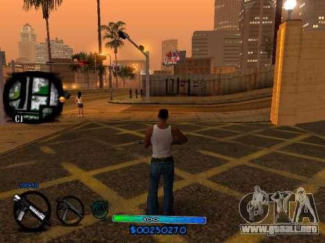 C-HUD COOL para GTA San Andreas