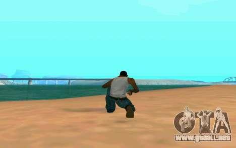 ENB la media y débil PC para GTA San Andreas quinta pantalla