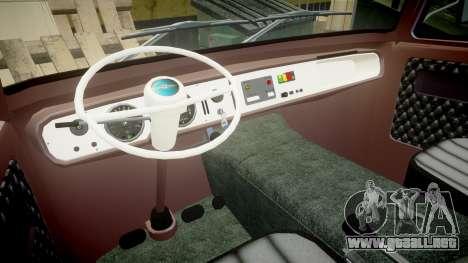 Barkas B1000 1961 para GTA 4 visión correcta