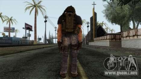Modern Warfare 2 Skin 12 para GTA San Andreas segunda pantalla