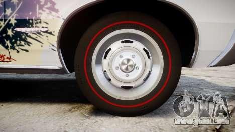 Pontiac GTO 1965 united para GTA 4 vista hacia atrás