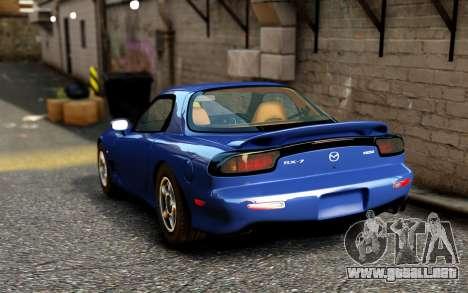 Mazda RX-7 1997 FD3s [EPM] para GTA 4 Vista posterior izquierda