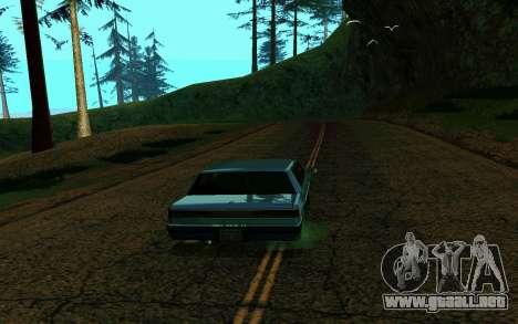 ENB la media y débil PC para GTA San Andreas segunda pantalla