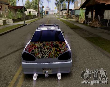 Elegy v2.0 para GTA San Andreas left