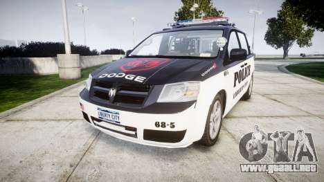 Dodge Grand Caravan LCPD [ELS] para GTA 4