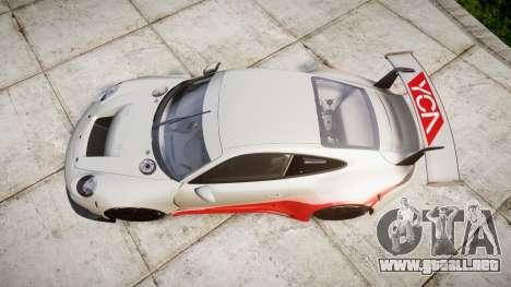 RUF RGT-8 GT3 [RIV] YCA para GTA 4 visión correcta