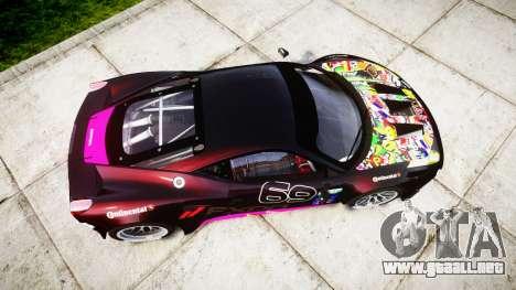 Ferrari 458 GT2 para GTA 4 visión correcta