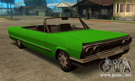 Beta Savanna para GTA San Andreas