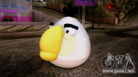 White Bird from Angry Birds para GTA San Andreas