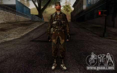 Soldier Skin 4 para GTA San Andreas