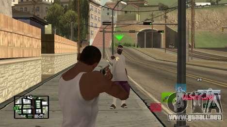 C-HUD by SampHack v.19 para GTA San Andreas segunda pantalla