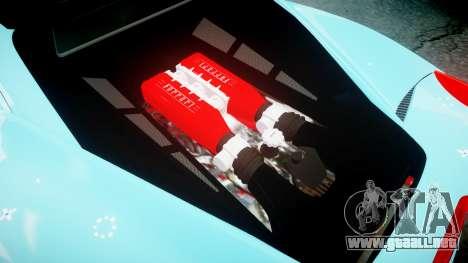 Ferrari 458 Italia 2010 v3.0 Purrari para GTA 4 vista lateral