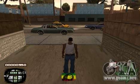 C-HUD Rasta para GTA San Andreas