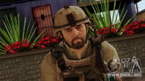 Modern Warfare 2 Skin 13 para GTA San Andreas tercera pantalla