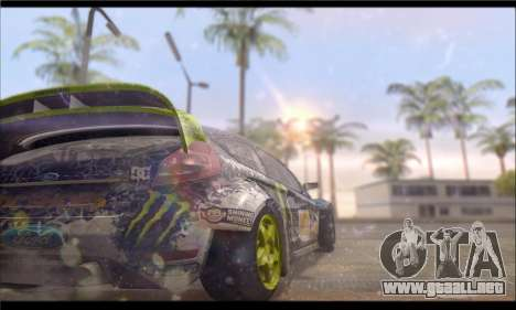 Corsar PayDay 2 ENB para GTA San Andreas sucesivamente de pantalla