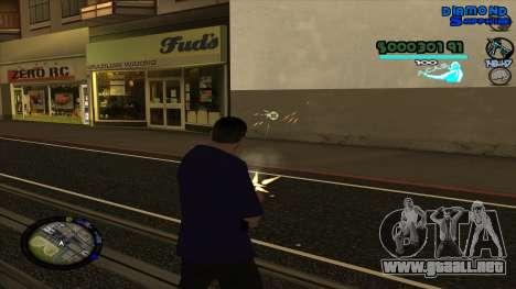 C-HUD Lopez para GTA San Andreas segunda pantalla