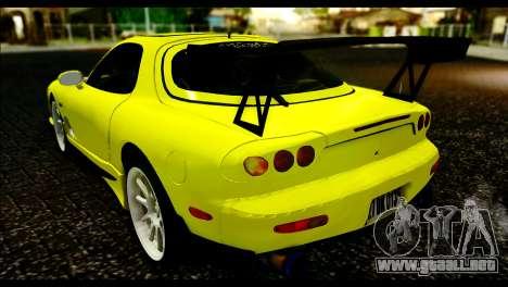 Mazda RX-7 Drift para GTA San Andreas left