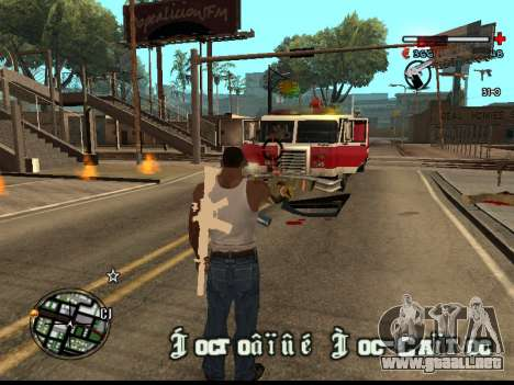 C-HUD Good para GTA San Andreas sucesivamente de pantalla
