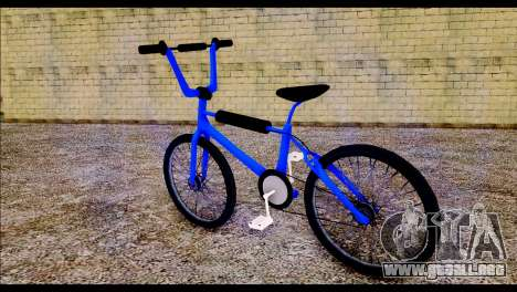 New BMX Bike para GTA San Andreas left