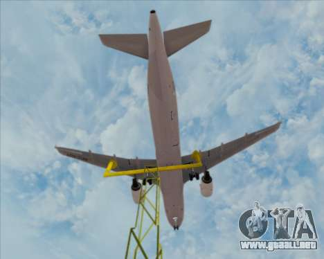 Airbus A320-200 Philippines Airlines para las ruedas de GTA San Andreas