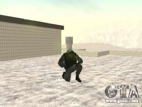 OMON MVD DE LA FEDERACIÓN DE RUSIA para GTA San Andreas segunda pantalla