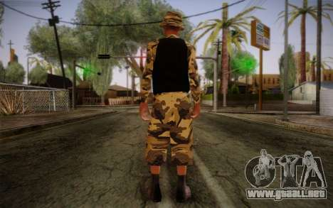Ginos Ped 14 para GTA San Andreas segunda pantalla