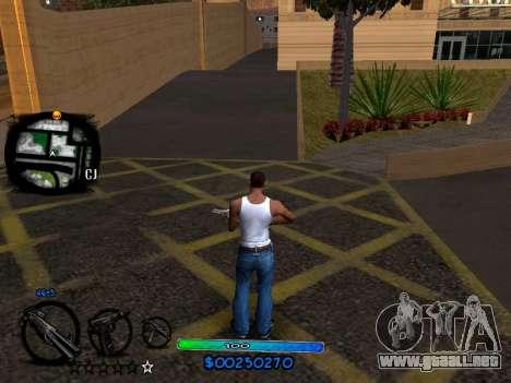 C-HUD COOL para GTA San Andreas segunda pantalla