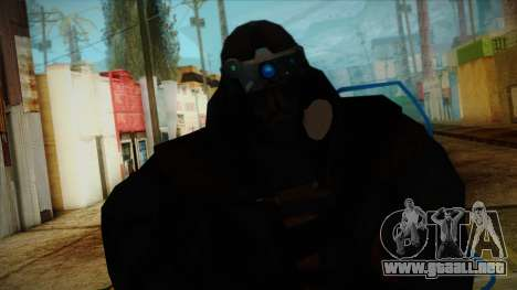 Super Soldier from Prototype 2 para GTA San Andreas tercera pantalla