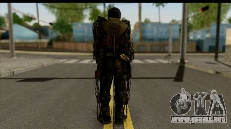 Stalkers Exoskeleton para GTA San Andreas segunda pantalla